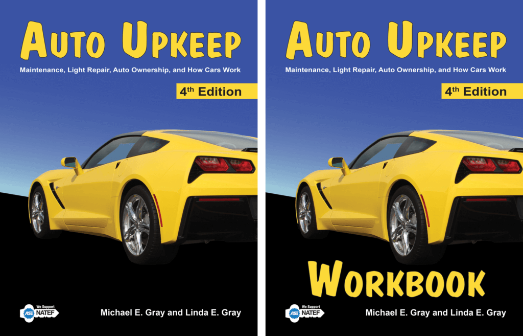 Auto Upkeep Textbook Workbook Set 4th Edition