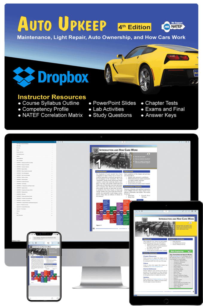 Auto Upkeep eKit with Dropbox